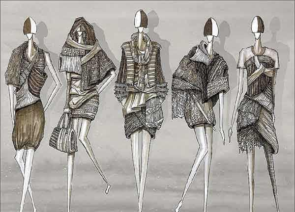服装设计作品
