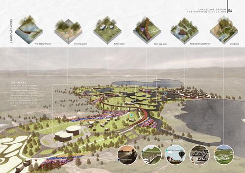 景观设计留学作品集案例3